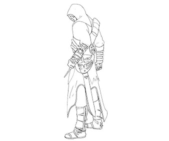 3 Assassin S Creed Coloring Page