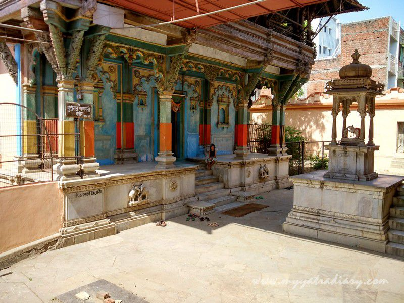 200 year old ancient Dhundiraj Ganesha Temple, Vadodara, Gujarat