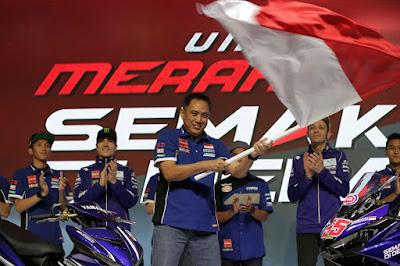 M. Abidin Kibarkan Merah Putih untuk Pembalap Yamaha Indonesia