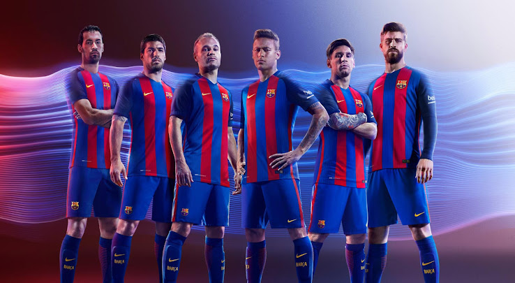 Barca To Change Home Kit Design Adidas Starts Trademark Battle With Fc Barcelona Footy Headlines