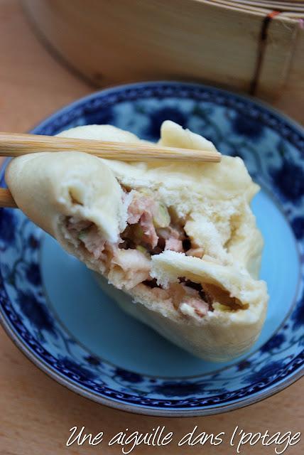 baozi au porc et au chou chinois cuisine asiatique