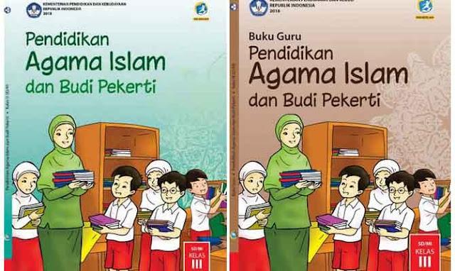 Buku Agama Islam Kelas 3 Sd Kurikulum 2013 Revisi 2018 Siswa Guru Materiku