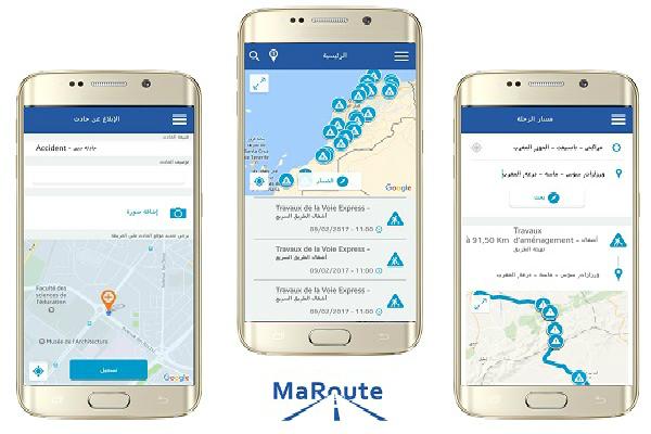 إطلاق تطبيق 'MaRoute' لفائدة مستعملي الطريق لتحسين سلامة المسافرين في المغرب