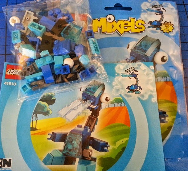 LEGO Mixels Lunk Frosticon review 41510