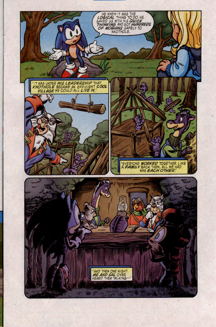 Read online Sonic The Hedgehog comic -  Issue #142 - 9
