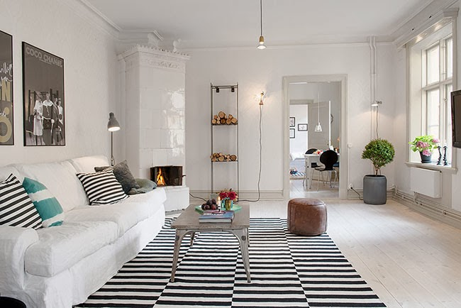 Less is more amo gli interni nordici home shabby home for Interni mobili