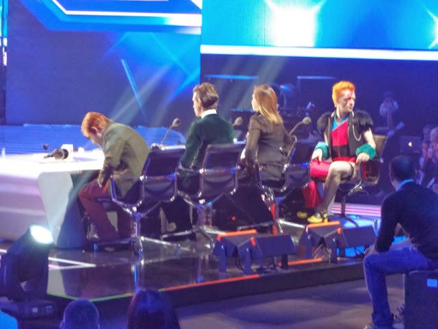 X Factor 2013 Italia terza puntata giudici Elio Mika Simona Ventura Morgan