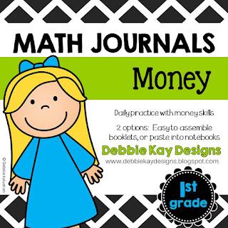 https://www.teacherspayteachers.com/Product/Math-Journals-Money-2245800