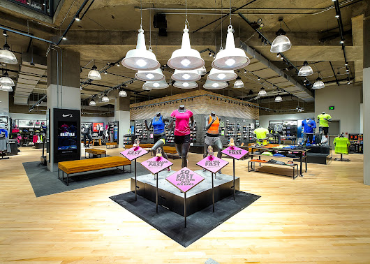Seattle lifestyle & fashion - FreshJess.com: Finding Greatness: The New Niketown Seattle
