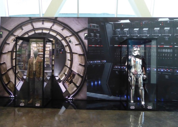 Star Wars Last Jedi movie costume exhibit