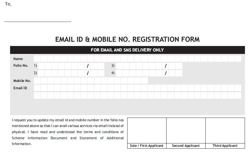 Free Change Of Address Form Online – Official Change of Address Form