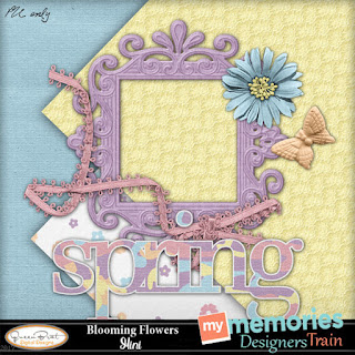 April MyMemories Blog Train is Ready!