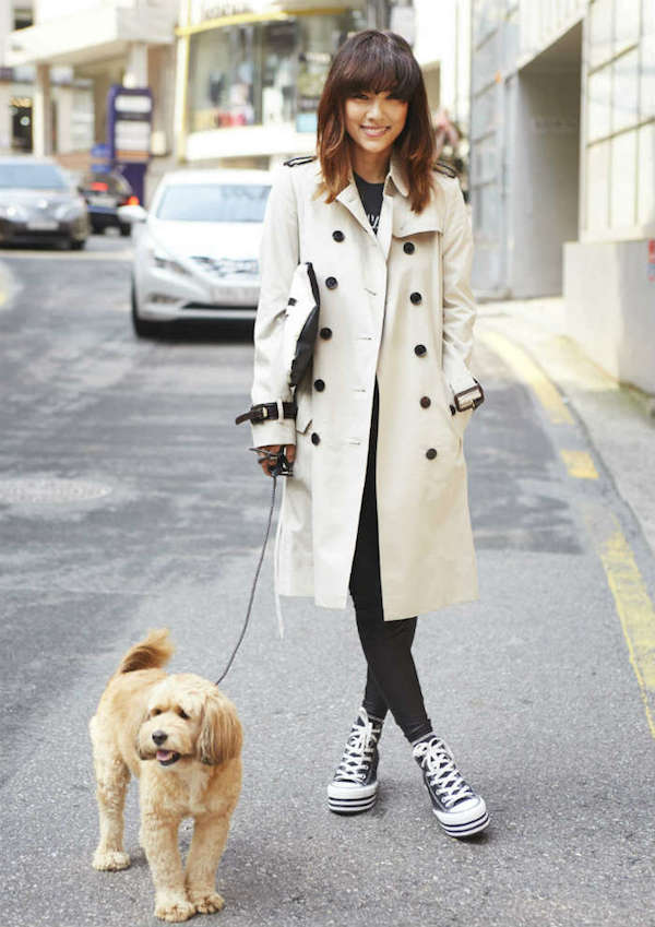 Hyori Burberry Art Of The Trench