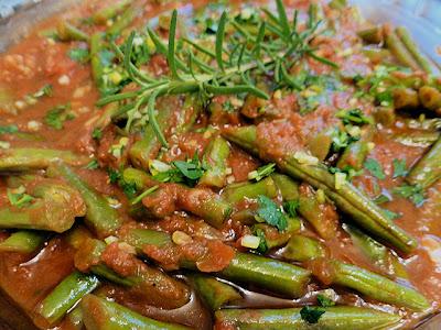 Sweet Runner Bean Stew