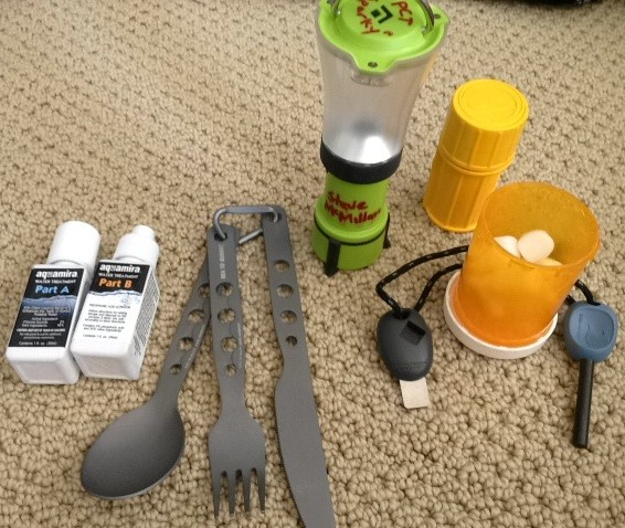 Sparky S 2012 Pacific Crest Trail Adventure Gear List