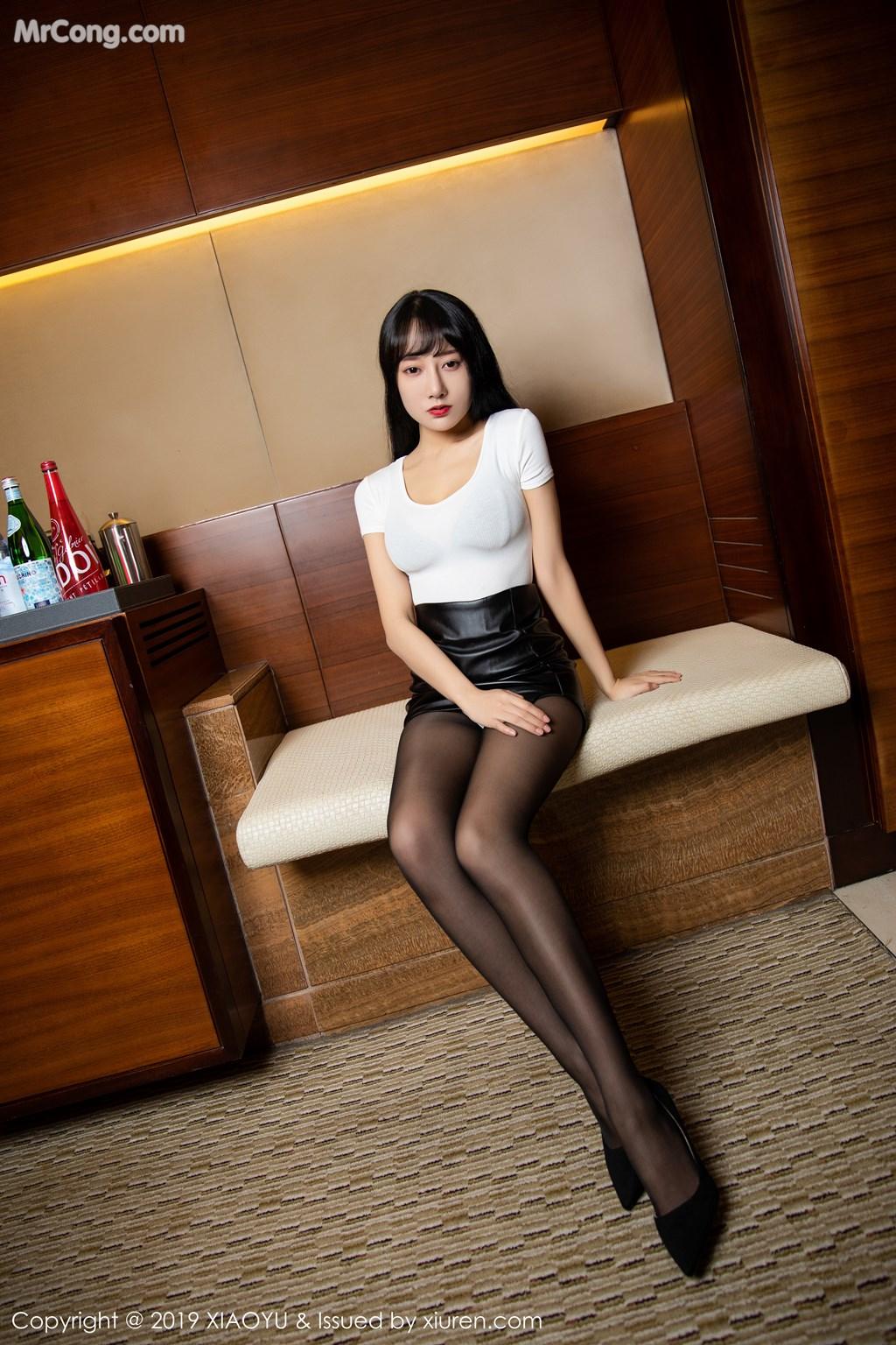 Image XiaoYu-Vol.092-He-Jia-Ying-MrCong.com-001 in post XiaoYu Vol.092: He Jia Ying (何嘉颖) (74 ảnh)