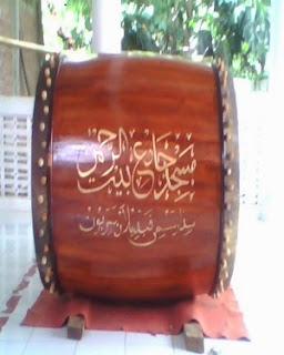 Jual Bedug Mesjid Berkualitas ukuran 140 cm x 200 cm