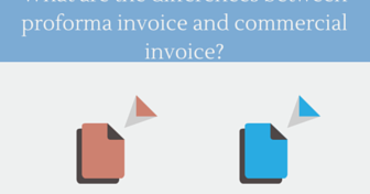 What Are The Differences Between Proforma Invoice And Commercial Invoice? |  AdvancedonTrade.com | Export, Import, Customs