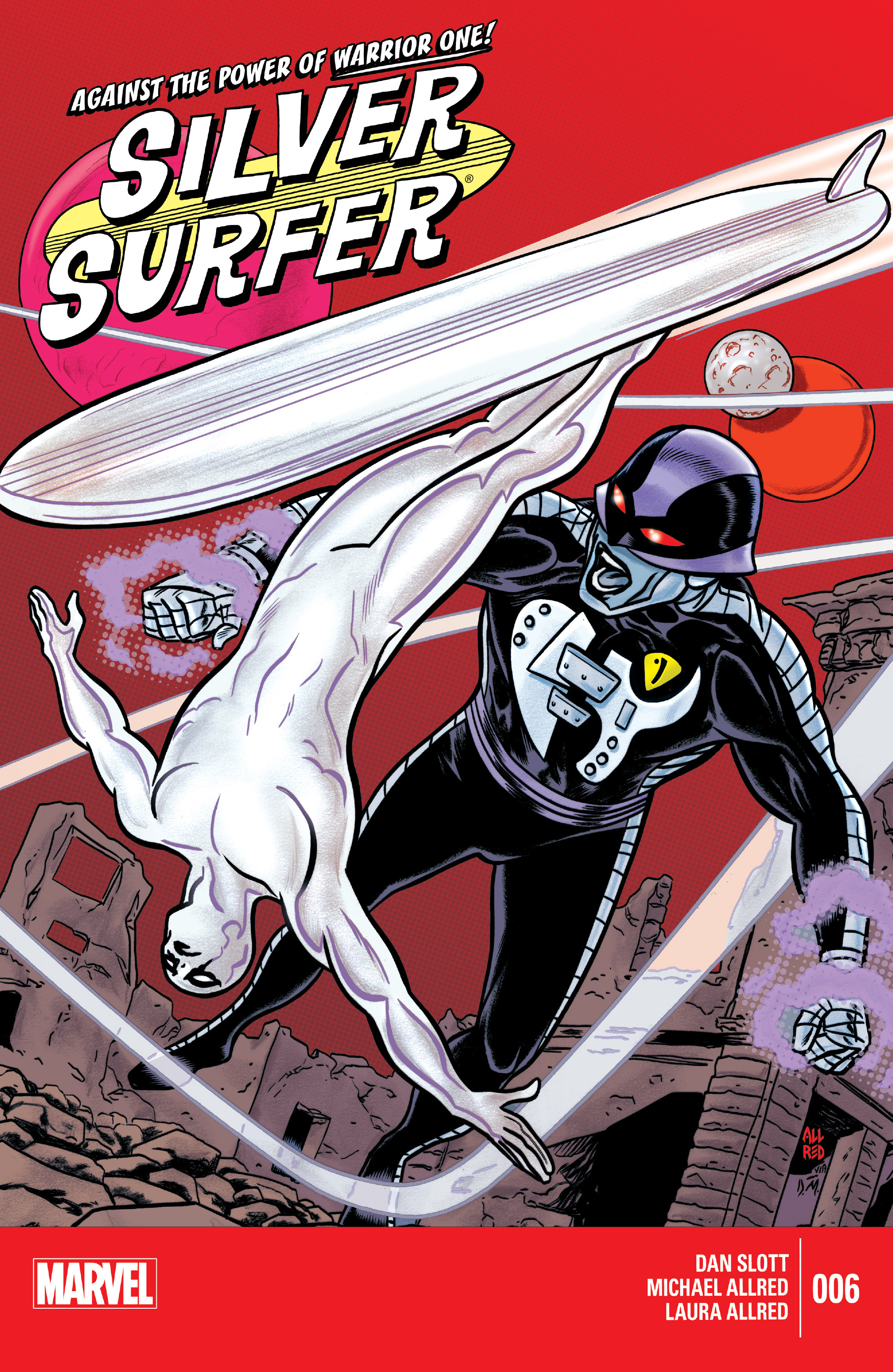Read online Silver Surfer (2014) comic -  Issue #6 - 1