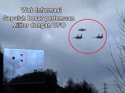 Pertemuan Militer dengan UFO