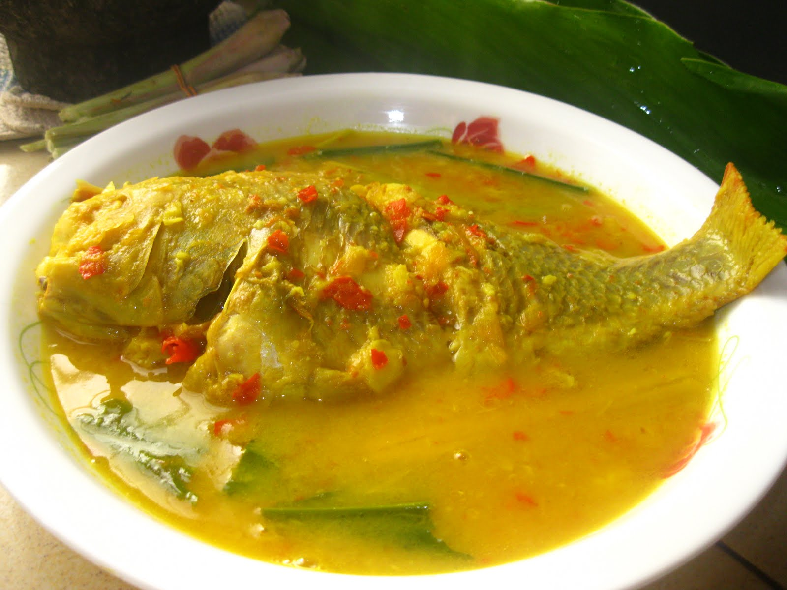 Dari Dapur Maklong: Gulai Tempoyak Ikan Talapia Merah