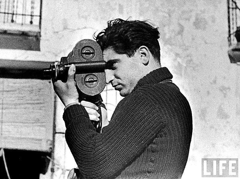 Хроника Второй мировой: фотограф Robert Capa
