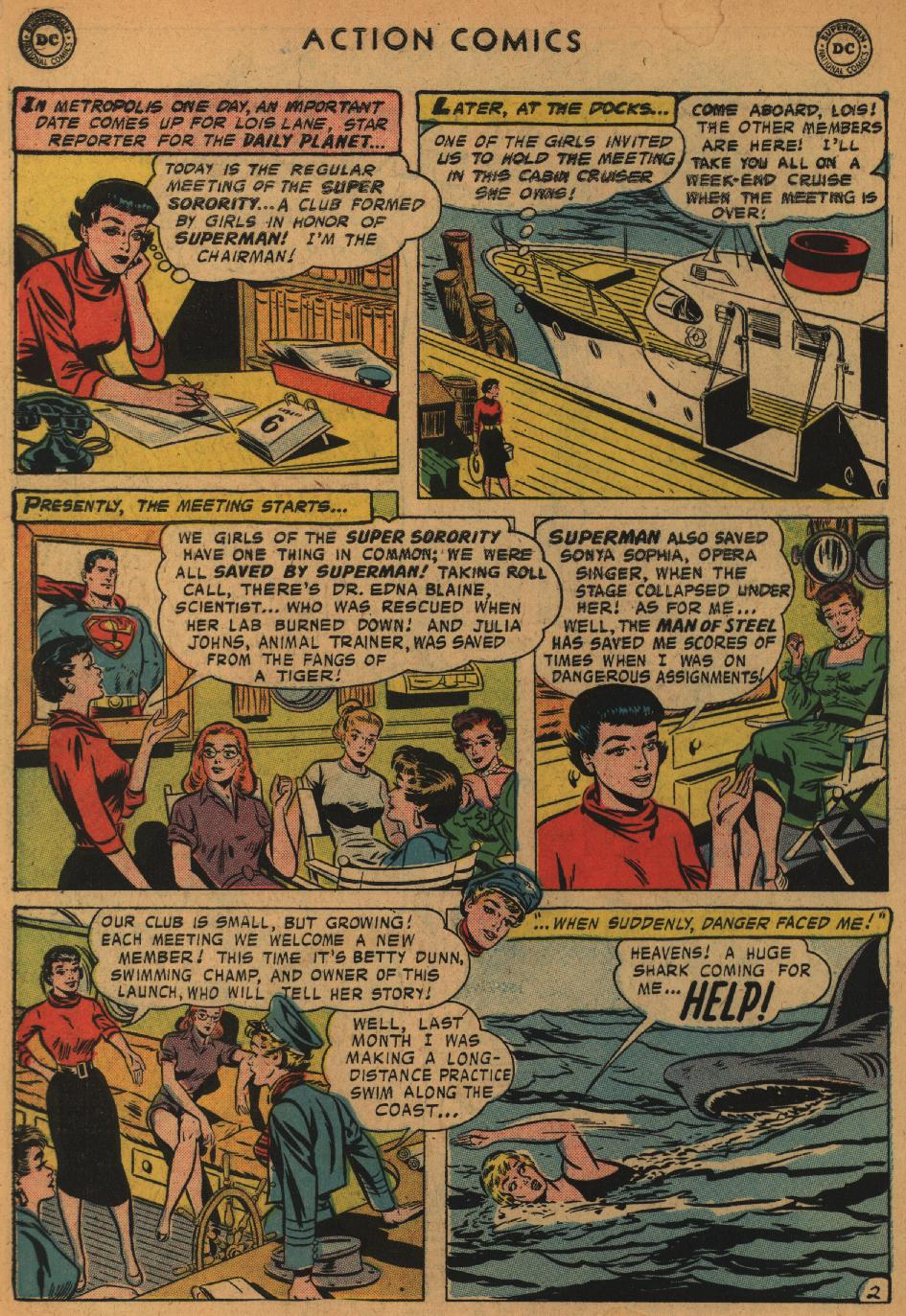 Read online Action Comics (1938) comic -  Issue #235 - 4