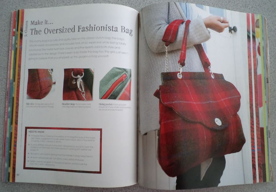 The Bag Making Bible The Complete Guide to Sewing and Customizing Your Own Unique Bags