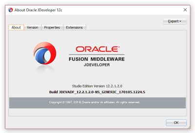 iTec: How to install Oracle JDeveloper 12c on Windows 10 64bit