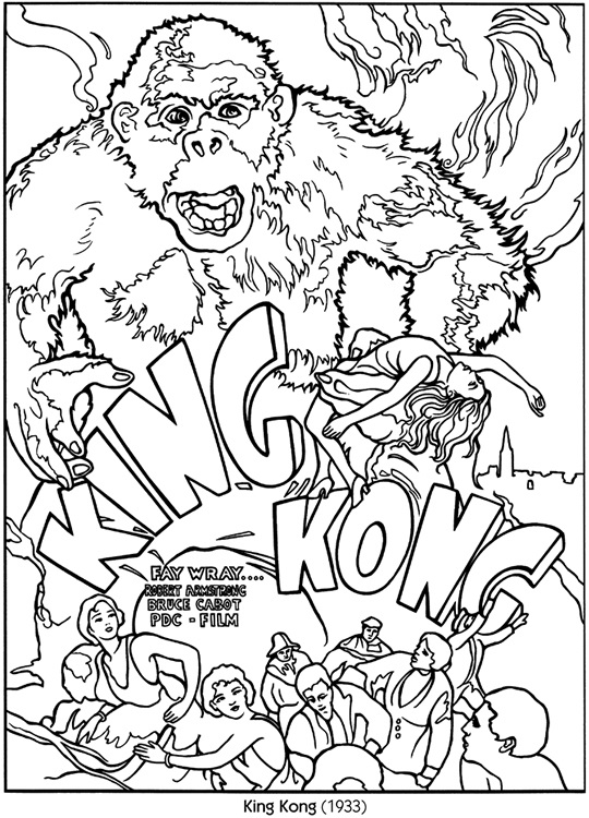 Hollys Horrorland Alternate Endings to King Kong
