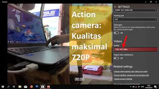 Cara Menggunakan Action Camera sebagai Webcam Laptop