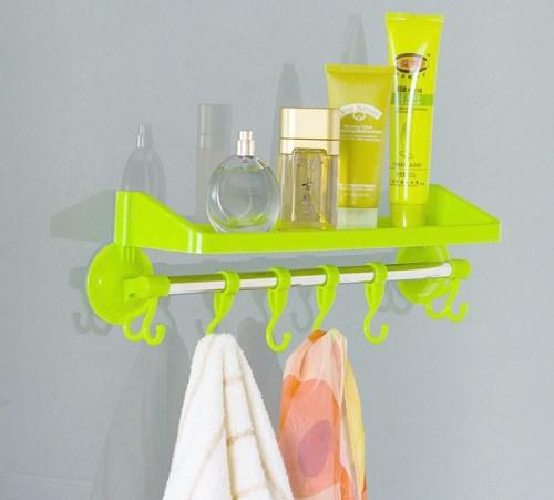 tempat sabun dan sampo minimalis di kamar mandi