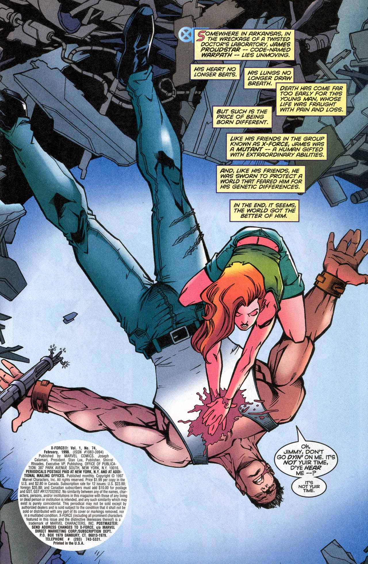 Read online X-Force (1991) comic -  Issue #74 - 4