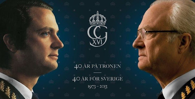 King Carl Gustaf 's 40th jubilee  Celebrations - Watching Live