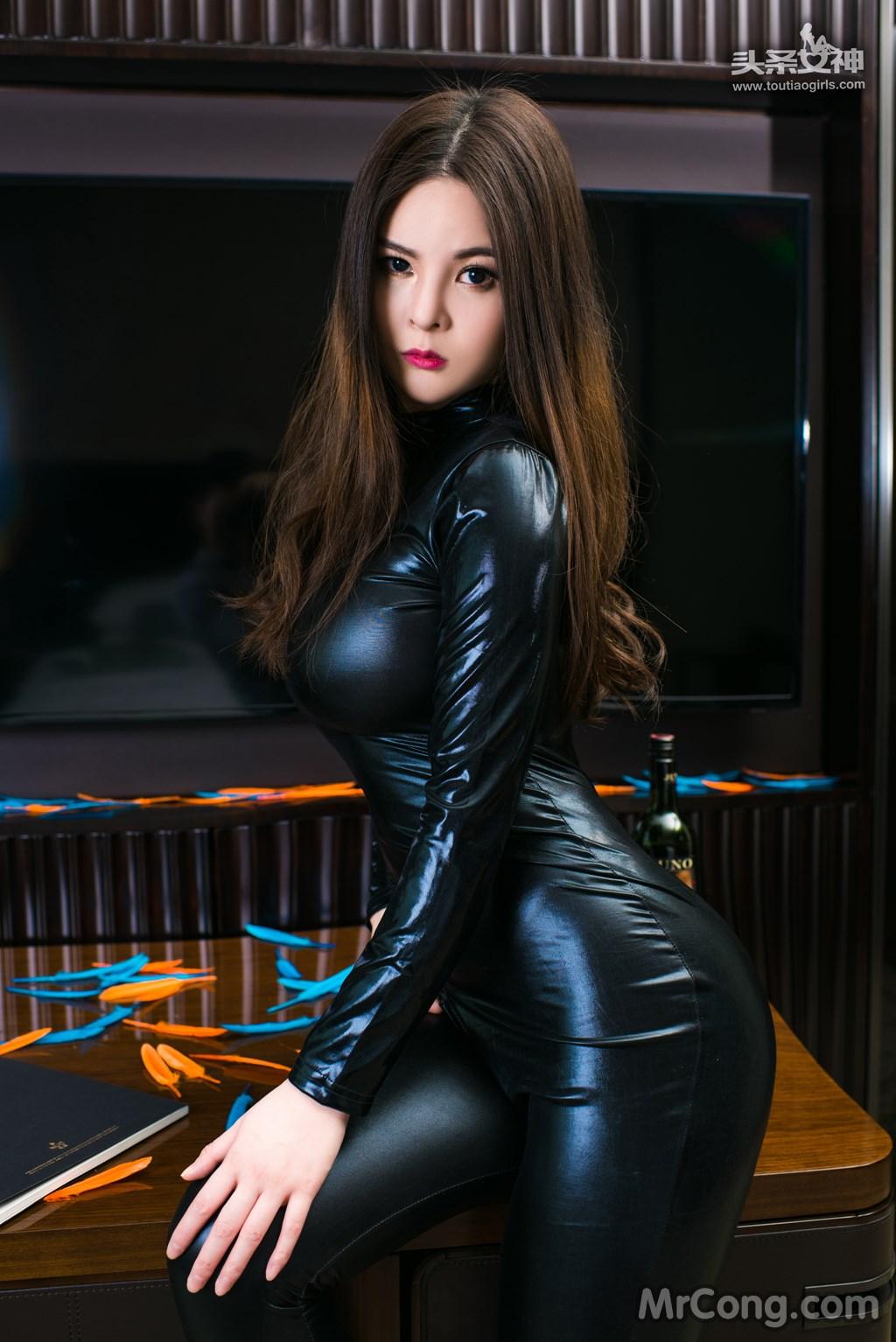 Image MrCong.com-TouTiao-2017-02-11-Tong-An-Qi-006 in post TouTiao 2017-02-11: Người mẫu Tong An Qi (童安琪) (27 ảnh)
