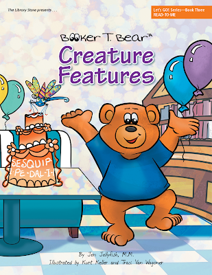 Booker T. Bear picture book cover illustrated by Traci Van Wagoner and Kurt Keller at Imagine That! Design