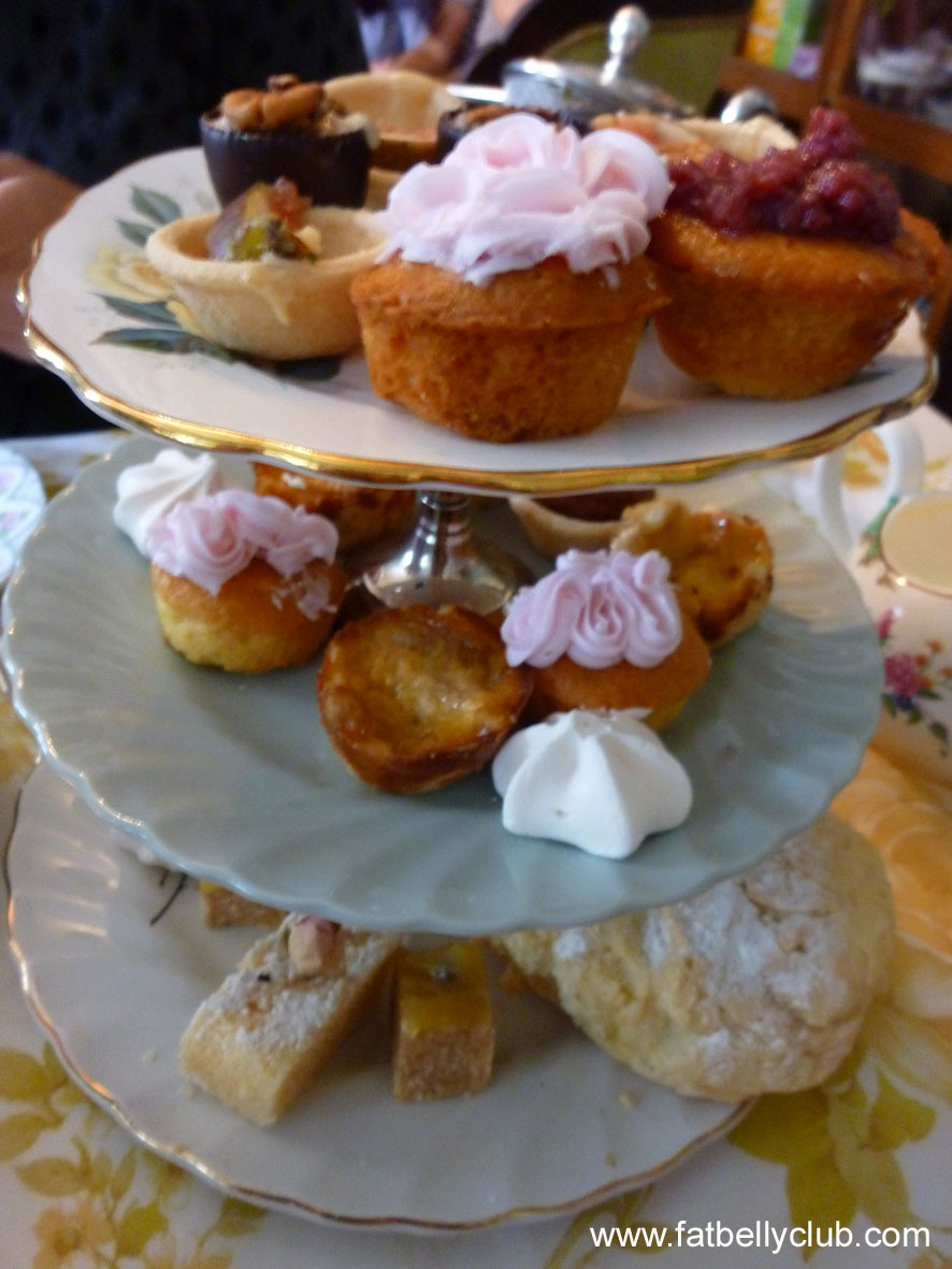 Fat Belly Club: Tea For Two At The Tea Parlour, Redfern