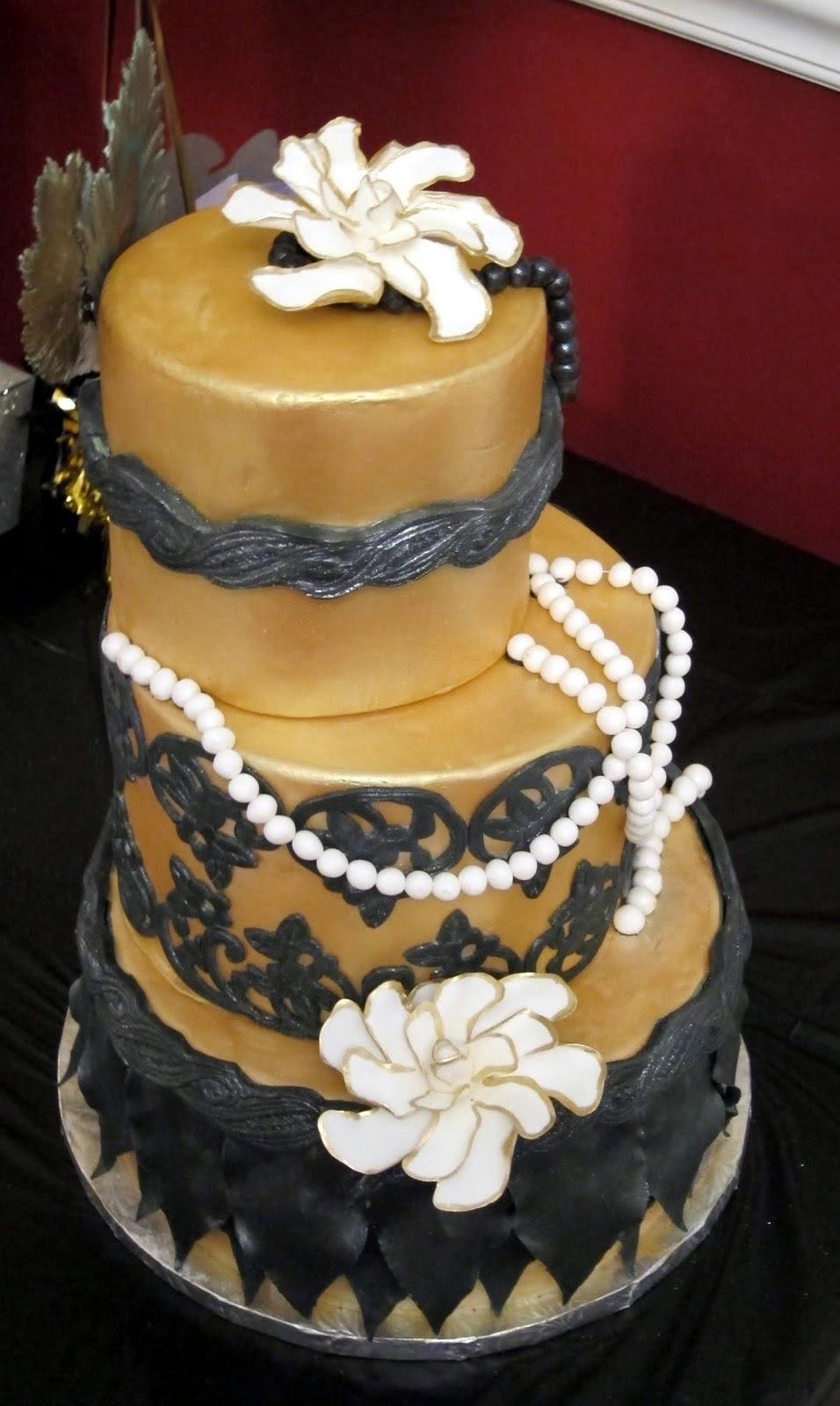 Cakegirl On The Run Roaring Twenties Birthday Cake