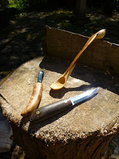 spoon carving first steps MaChris bushcraft knife