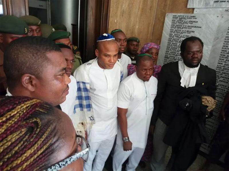 Buhari overthrew govt yet Nnamdi Kanu, not Buhari, is in jail - Lawyer
