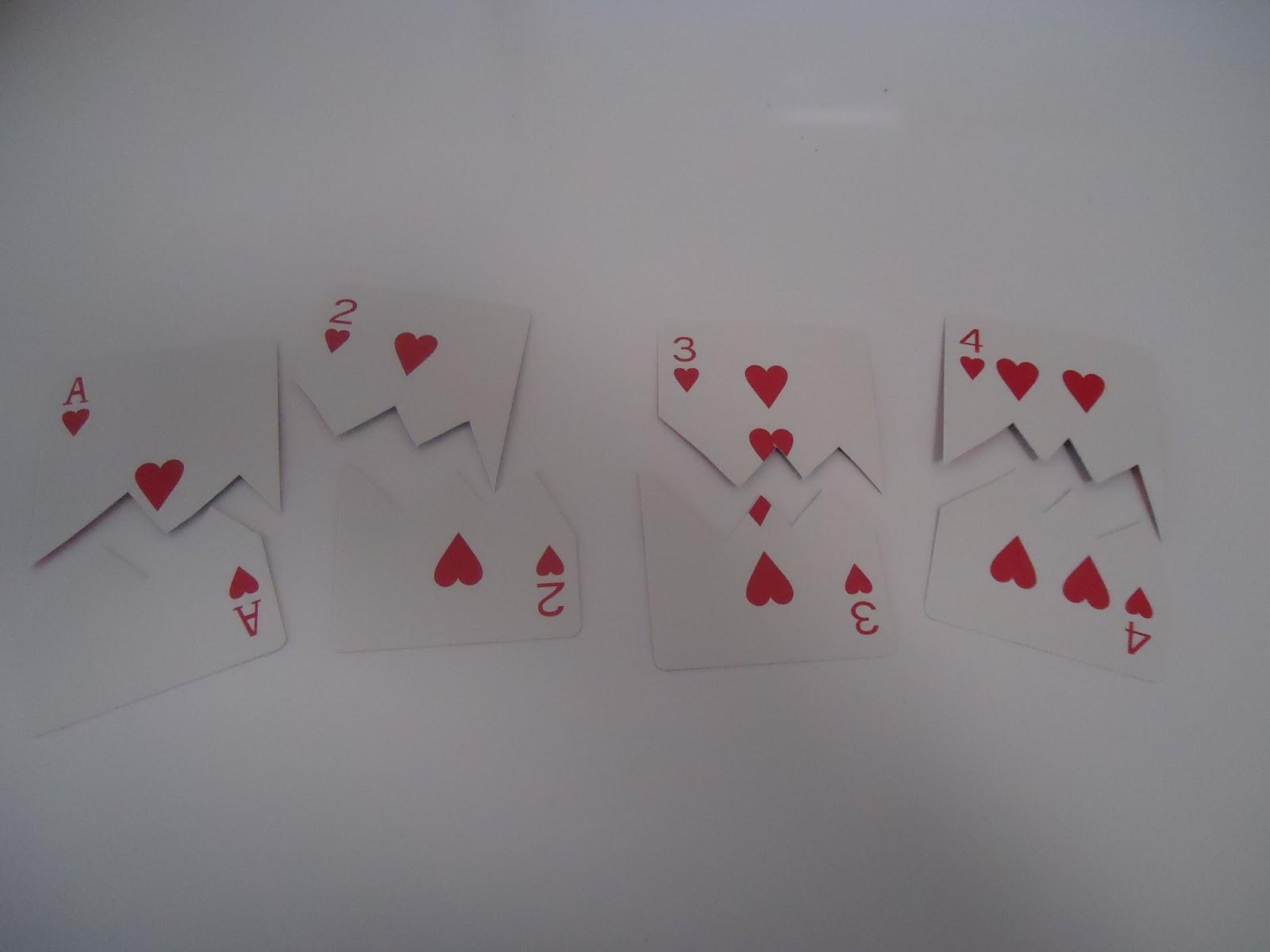 Pretty Cool Preschool Number Heart Match