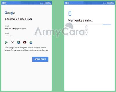 cara menambah akun gmail di hp xiaomi