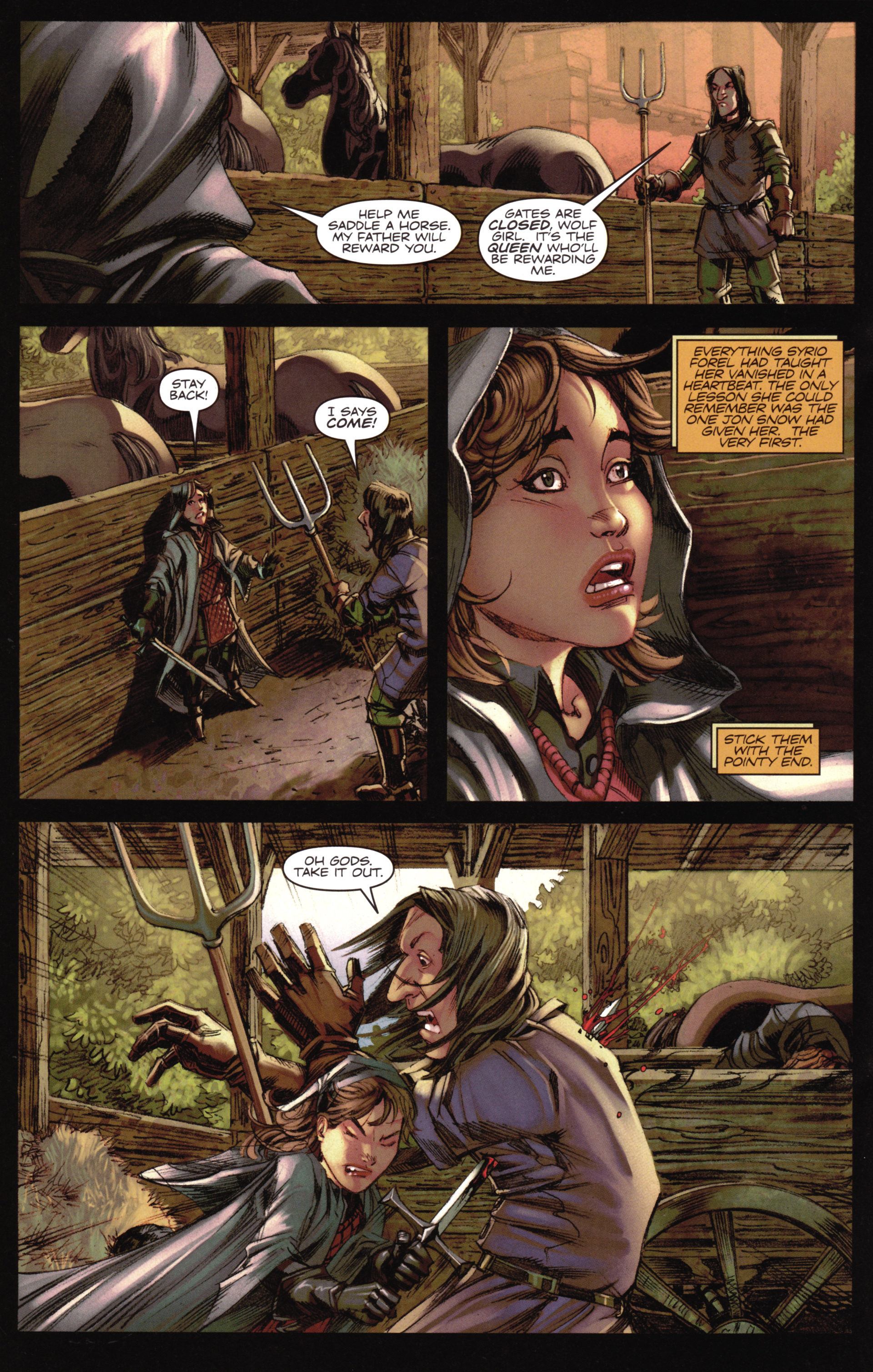 Read online A Game Of Thrones comic -  Issue #16 - 22