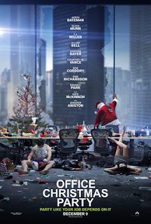 Office Christmas Party 2016 DVD and Bluray Release Date Poster