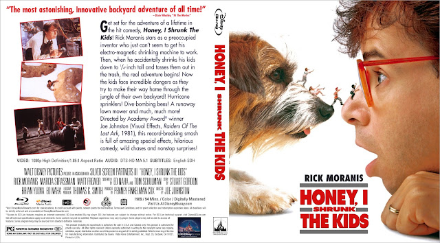 Honey, I Shrunk the Kids Bluray Cover