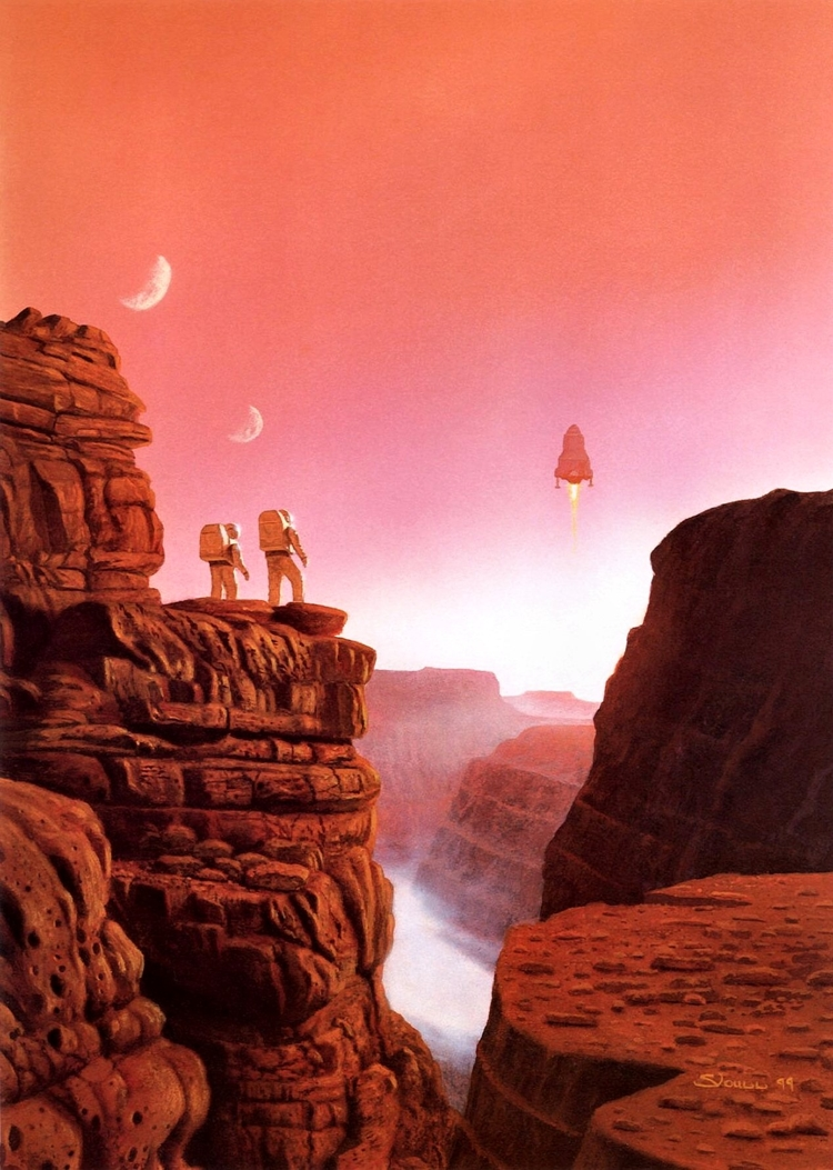 Cover image for 'The Martian Race' by Stephen Youll