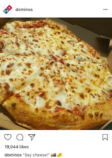 Pizza, la comida favorita de Instagram