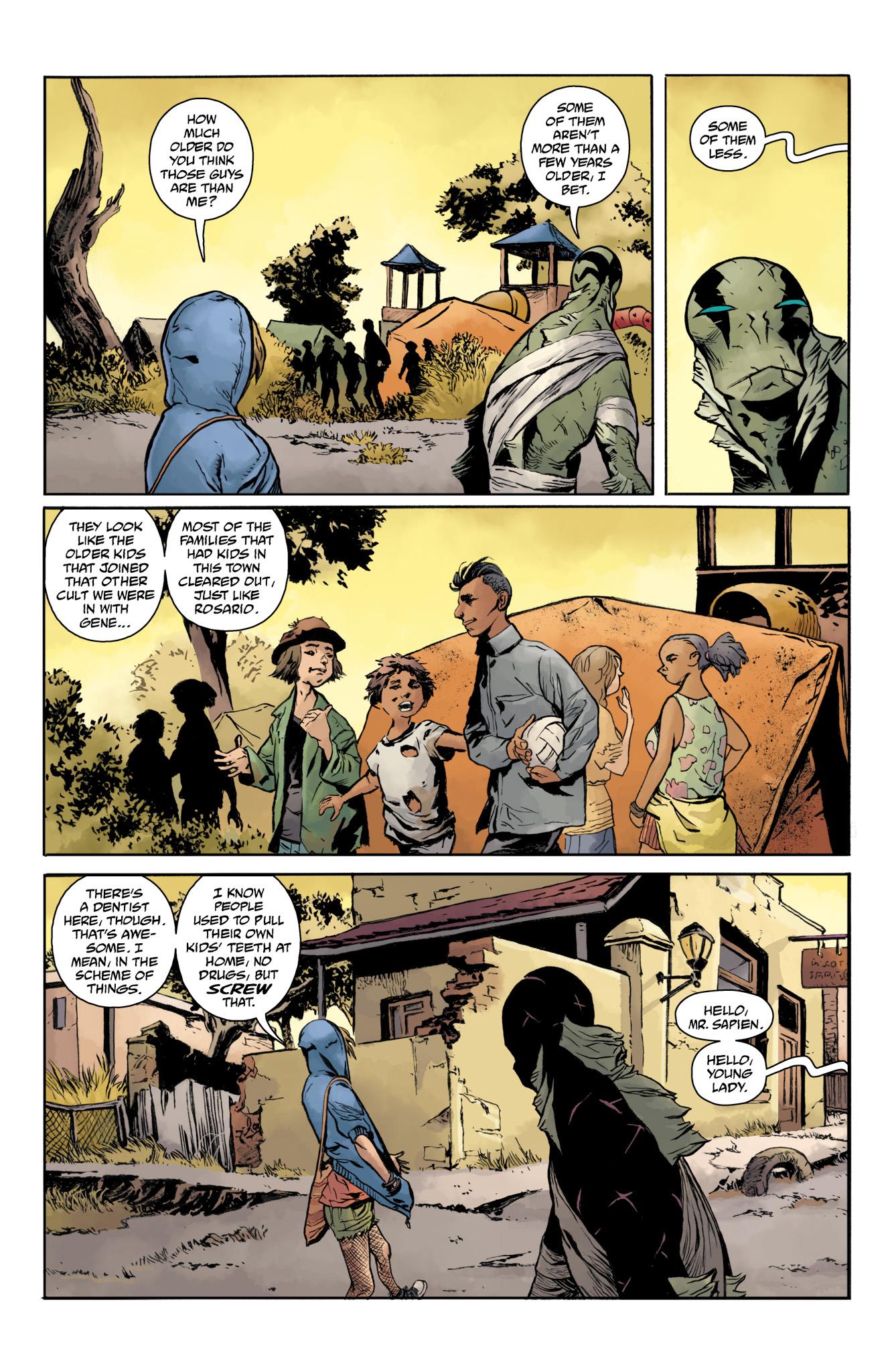 Read online Abe Sapien comic -  Issue #20 - 9