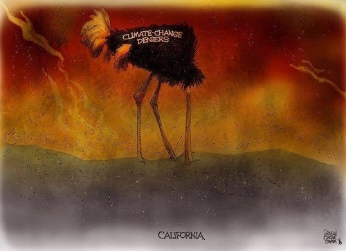 Toon of the Week - Climate-Change Deniers / California