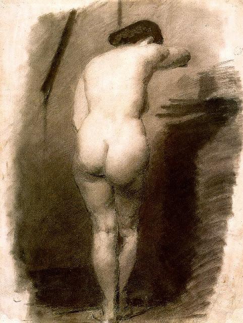Thomas Eakins: Nudo in piedi